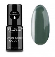 NeoNail - UV GEL POLISH COLOR - GRUNGE - Lakier hybrydowy - 6 ml - 3779-1 - DIRTY GREEN - 3779-1 - DIRTY GREEN