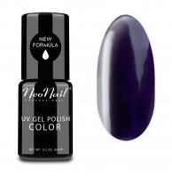 NeoNail - UV GEL POLISH COLOR - GRUNGE - Lakier hybrydowy - 6 ml - 3784-1 - SHADE PLUM - 3784-1 - SHADE PLUM