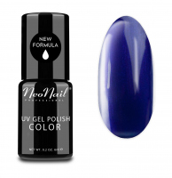NeoNail - UV GEL POLISH COLOR - GRUNGE - Lakier hybrydowy - 6 ml - 3789-1 - DEEP NAVY - 3789-1 - DEEP NAVY