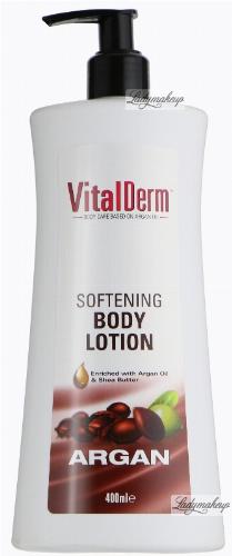 VitalDerm - SOFTENING BODY LOTION ARGAN - Arganowy, zmiękczający balsam do ciała - REF: 102