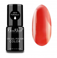 NeoNail - UV GEL POLISH COLOR - LADY IN RED - Lakier hybrydowy - 3214-1 - LIGHT RED - 3214-1 - LIGHT RED