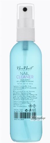 NeoNail - NAIL CLEANER - Odtłuszczacz do paznokci z atomizerem - 100 ml - ART. 1050