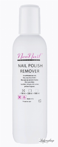 NeoNail - NAIL POLISH REMOVER - Zmywacz do paznokci - 100 ml - ART. 1054
