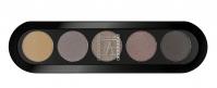 Make-Up Atelier Paris -  Cake Eyeliner 5 Kolorów - TE30 - TE30