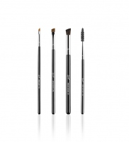 Sigma - BROW GOALS - BRUSH SET - Zestaw 4 pędzli do brwi (E71, E06, E80, E75)