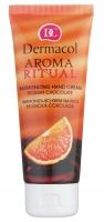 Dermacol - AROMA RITUAL - HARMONIZING HAND CREAM - BELGIAN CHOCOLATE - Krem do rąk o zapachu BELGIJSKIEJ CZEKOLADY - ART. 4377