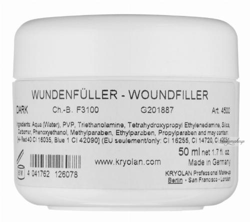 KRYOLAN - WOUNDFILLER - Krew wodna do wypełniania ran - ART. 4500