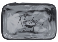 Nanshy - TRAVEL COSMETIC POUCH - (MEDIUM Clear PVC Set Bag) - Kosmetyczka przezroczysta