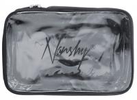 Nanshy - TRAVEL COSMETIC POUCH - (MEDIUM Clear PVC Set Bag)