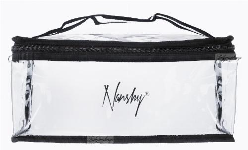 Nanshy - CLEAR COSMETIC BAG - (SMALL Clear PVC Set Bag) - Kosmetyczka przezroczysta
