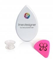 Beautyblender - LINER.DESIGNER® BY BEAUTYBLENDER® - Szablon do kresek + etui/lusterko