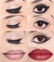 Beautyblender - LINER.DESIGNER® BY BEAUTYBLENDER® - Szablon do kresek + etui/lusterko - BIAŁY