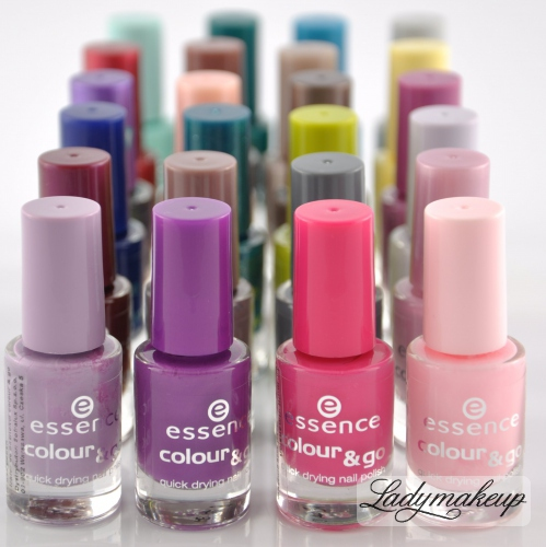Essence - Lakier do paznokci Colour & Go
