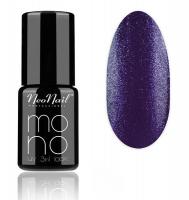 NeoNail - MONO UV 3 IN 1 LACK - Hybrid Varnish - 4042 Violet Glitter - 4042 Violet Glitter