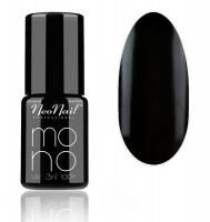 NeoNail - MONO UV 3 IN 1 LACK - Hybrid Varnish - 4053 Pure Black - 4053 Pure Black