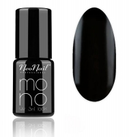 NeoNail - MONO UV 3 IN 1 LACK - Hybrid Varnish - 4053 Pure Black - 4053 Pure Black