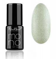 NeoNail - MONO UV 3 IN 1 LACK - Hybrid Varnish - 4055 Silver Pearl - 4055 Silver Pearl