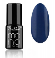 NeoNail - MONO UV 3 IN 1 LACK - Lakier hybrydowy - 4204 Solid Navy - 4204 Solid Navy