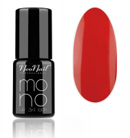 NeoNail - MONO UV 3 IN 1 LACK - Hybrid Varnish - 4519 Coral Red - 4519 Coral Red