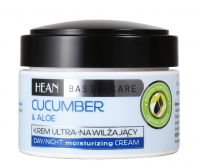 HEAN - CUCUMBER & ALOE day/night moisturizing cream - KREM ULTRA-NAWILŻAJĄCY