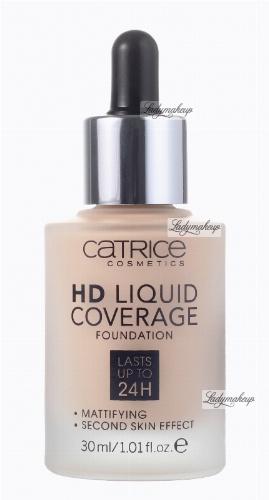 Catrice - HD LIQUID COVERAGE FOUNDATION - Podkład kryjący