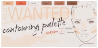 ARTDECO - MOST WANTED - CONTOURING PALETTE - 2 WARM - Paletka do konturowania twarzy