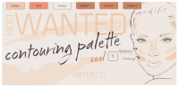 ARTDECO - MOST WANTED - CONTOURING PALETTE - 1 COOL