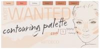 ARTDECO - MOST WANTED - CONTOURING PALETTE - 1 COOL - Paletka do konturowania twarzy
