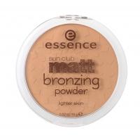 Essence - Sun Club - matt bronzing powder - Matujący puder brązujący