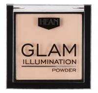 HEAN - GLAM ILLUMINATION POWDER - Puder rozświetlający