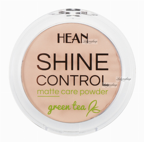 HEAN - SHINE CONTROL - MATTE CARE POWDER - Puder matujący