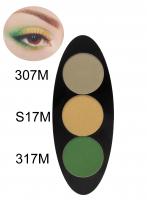 Glazel - EYE Ellipse - Magnetic eyeshadow palette - SMOKEY GREEN