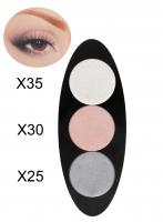 Glazel - EYE Ellipse - Magnetic eyeshadow palette - WARM WINTER