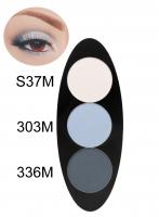 Glazel - EYE Ellipse - Magnetic eyeshadow palette - WIND