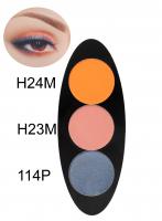 Glazel - EYE Ellipse - Magnetic eyeshadow palette - DARK SUNSET