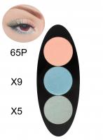 Glazel - EYE Ellipse - Magnetic eyeshadow palette - PASTEL
