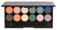 Sleek - I-Divine Mineral Based Eyeshadow Palette - Paleta 12 cieni - LIMITED EDITION - ON THE HORIZON - 444