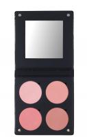 Make-Up Atelier Paris - PALETTE 4 BLUSH 3D - Paleta 4 róży - PINKY - PINKY
