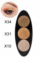 Glazel - EYE Ellipse - Magnetic eyeshadow palette - LIQUID GOLD