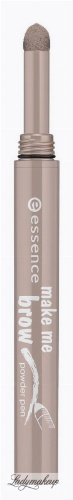Essence - MAKE ME BROW - POWDER PEN - Cień do brwi w kredce