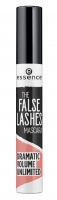 Essence - THE FALSE LASHES MASCARA - DRAMATIC VOLUME UNLIMITED - Tusz pogrubiający i wydłużający rzęsy
