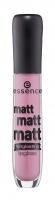 Essence - MATT MATT MATT - LONGLASTING LIPGLOSS - Matowy błyszczyk do ust