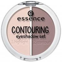 Essence - CONTOURING EYESHADOW SET - Zestaw cieni do konturowania