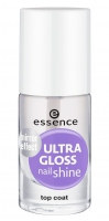 Essence - ULTRA GLOSS NAIL SHINE - Mirror effect - Top coat - Lakier nadający połysk