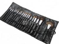 LancrOne - Zestaw 19 pędzli do makijażu + czarne etui