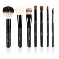 LancrOne - Zestaw 7 pędzli do makijażu + czarne etui