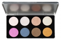 Glazel - CITY SERIES - Platinum Seria City - Paleta 8 cieni do makijażu  - ROME
