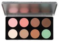 Glazel - CITY SERIES - Platinum Seria City - Paleta 8 cieni do makijażu  - PRAGUE
