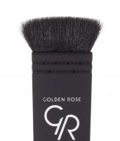 Golden Rose - PERFECT CONTOUR BRUSH - Płaski pędzel kabuki do konturowania - K-FIR 302