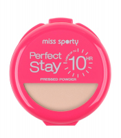 Miss Sporty - So Matte Perfect Stay - Puder matujący - 001 - LIGHT - 001 - LIGHT